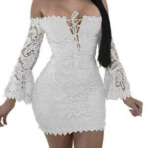 Dresses & Skirts - White dress worn once